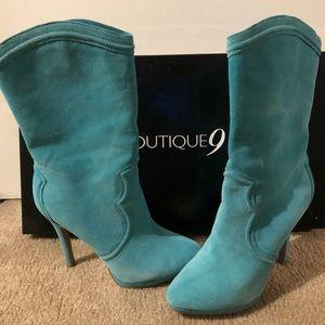 Boutique 9 Shoes - Suede boots